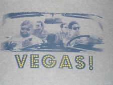 Hangover Movie Vegas T-Shirt Mens Large Distressed and has hole on left shoulder