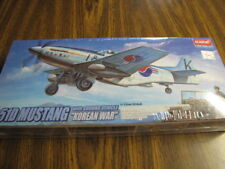 "F-51D Mustang w/ Ground Vehicle ""Korean War"" 1/72 scale Academy kit # 2205"
