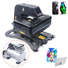 3d Auto Open Heat Press Printer Machine Vacuum Transfer Sublimation Printing Usa