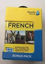 Rosetta Stone French NRFB