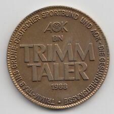 1988 Ein Trimm Taler german walking coin - TRIMM TRAB INS GRÜNE 273