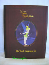FAIRIES Christmas 2003-04 DISNEY STORYBOOK [6] Ornament Box SET