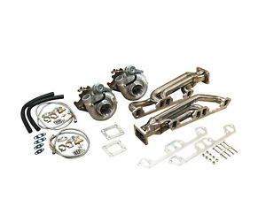 FOR MOPAR DODGE R/T 1000HP TT Twin Turbo KIT 318 340 360 LA 5.2L 5.9L HOT PARTS