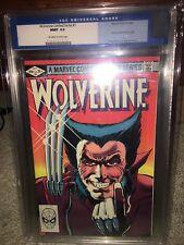 Wolverine Limited Series #1 CGC 9.9 Marvel 1982 Mint! Rare! Not 9.8! G11 508 cm