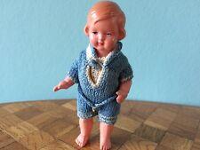 Celluloid Cellba-Puppe gemarkt 40er Puppenstube Puppenhaus  dollhouse doll