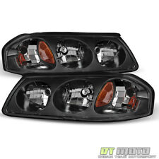 2000-2005 Chevy Impala Headlights Replacement 00-05 Headlamps Pair Left+Right
