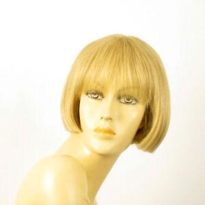 perruque femme 100% cheveux naturel courte blonde ref ELISA 22