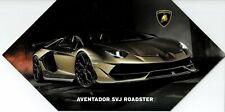 Lamborghini Aventador SVJ R. & Huracan Evo Spyder Pressemappe Presskit_Genf 2019