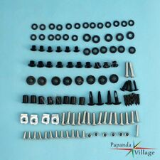 Complete Fairing Bolt Kit Push Pins Nuts Stainless for Honda CBR600 F4 F4i 99-07