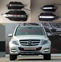 Exact Fit LED DRL Daytime Running Light Fog Lamp For Mercedes-Benz GLK300 GLK350