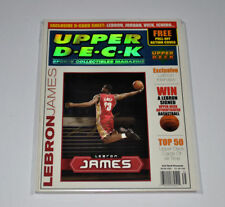 LeBron James Signed  UPPER DECK SPECIAL TRIBUTE ISSUE AUTOGRAPHED