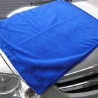 10Pcs Blue Soft Absorbent Wash Cloth Car Auto Care Microfiber Cleaning Towels KY