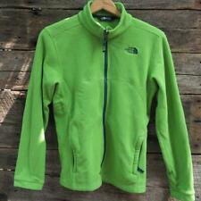 The North Face Green Fleece Jacket Youth Size L 14-16
