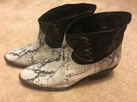 Free People Dorado Ankle Boot Size 8 MSRP: $278 New Leather Women