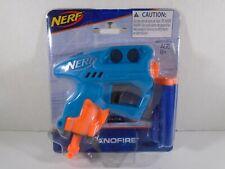 2017 HASBRO--NERF BLUE NANOFIRE GUN (NEW)