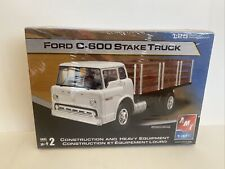 AMT Ertl 1/25 Ford C-600 Stake Truck Brand New Factory Sealed