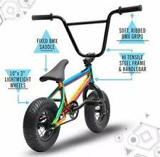 Sullivan Ambush Mini Rocker Bicicleta BMX Stunt Freestyle Jet Type Fuelled Neo Cromo