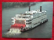Mississippi Queen postcard steamboat paddlewheel river 1994 USA HOM 120 9/94