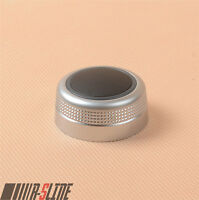 MMI Multimedia Knob Switch Cover Cap For AUDI A6 S6 C6 05-08 A8 S8 D3 Q7 07-09