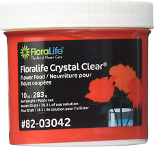 Cut Flower Food Floralife Crystal Clear 10 Ounce