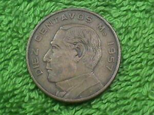 MEXICO 10 Centavos 1957