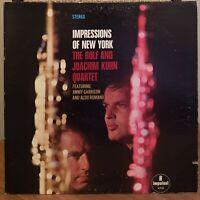 Rolf and Joachim Kuhn Quartet Jimmy Garrison Impulse Gate Fold Vinyl LP Jazz