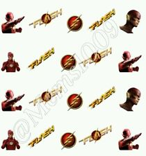 The Flash Nail Art Water Transfer decals!  DC Comic nail decals !!