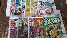 uncanny X-men Comic Lot of over 219 comics 177-435 annuals 95-99 10 11 bagged
