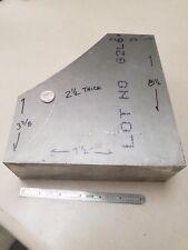 "Aluminum Bar, 2-1/2""  x  7-1/2""  x  8-1/2"",  Machine Lathe Stock"
