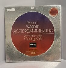Richard Wagner Gotterdammerung By Georg Solti 1983 4Lp's Album Decca Records