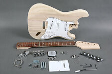 2019 STRAT STYLE 6 STRING DIY BUILDER KIT ELECTRIC GUITAR PROJECT INSTRUCTIONS