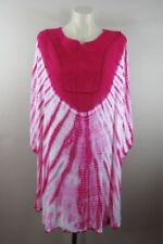 Viscose Dresses for Women with Smocked Tie Dye