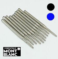 Recharge compatible Mont Blanc bille M / Noire ou Bleue-Envoi de Fr immédiat
