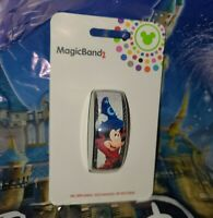 DISNEY PARKS 2021 Sorcerer Mickey Mouse Fantasia WHITE Magicband Magic Band