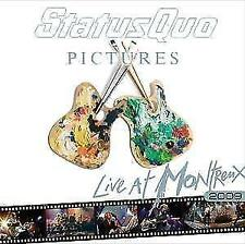 Status Quo - Pictures-Live At Montreux 2009  CD NEU&VERSCHWEISST!