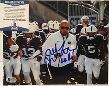 JAMES FRANKLIN SIGNED PENN STATE NITTANY LIONS 8x10 PHOTO BECKETT BAS COA D32867