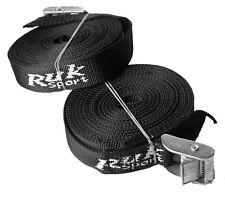 Ruk - 2 X 5.0 Meter Length 25mm Width Car Roof Rack Tie Down Strap Steel Buckles