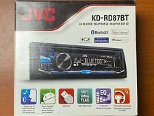 New listing Jvc Car Stereo Cd Receiver Kd-Rd87Bt Bluetooth K2 Technology