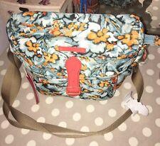 Oilily Diamond Flowers Shoulder Bag Cross Body Bag .new