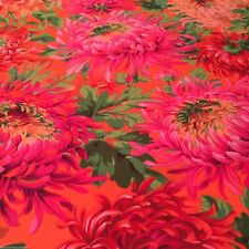 Fat Quarter Kaffe Fassett Shaggy RED - Cotton Quilting/Patchwork Fabrics