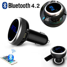 KFZ Bluetooth FM Transmitter Auto Radio MP3 Player USB Adapter Freisprechanlage