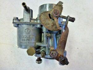 Vintage Volkswagen Solex 28 Pict Carburetor 1958 1959 1962 1964 Bus Bug Ghia !