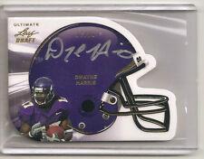 Dwayne Harris Helmet card Auto/Autograph # 17/20 nice
