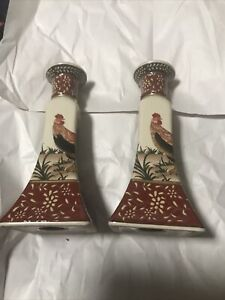 2 Pc Signature Home Collections Candle Holder
