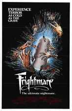 Frightmare 1983 Poster 01 A3 Box Canvas Print