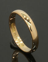 22 Carat Yellow Gold Plain Wedding Ring 2.9mm Size L (70.17.196)