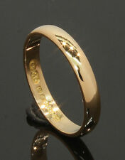 22 Carat Yellow Gold Plain Wedding Ring 2.9mm Size L 22CT (70.17.196)