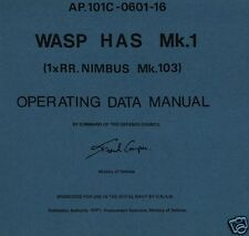 WESTLAND WASP Manuals RARE NAVY Historic Period Helicopter archives Falklands