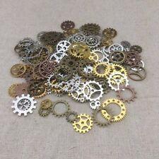 Charms Jewelry Cogs & Gears Steampunk Cyberpunk Watch Parts Making Craft Arts