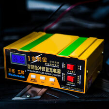 12V/24V caricabatterie per auto moto LEAD ACIDO BATTERIA AL LITIO KIT EU